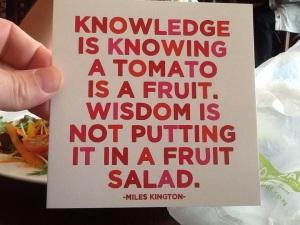 knowledge-wisdom