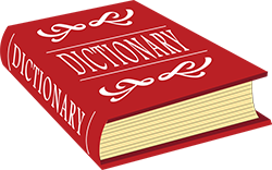 dictionary red