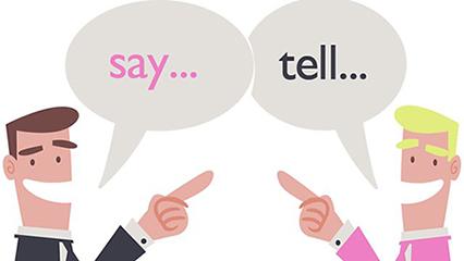 say-tell